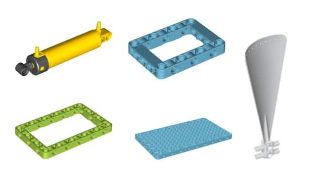 LEGO 45400 Bricq Motion Neue Teile