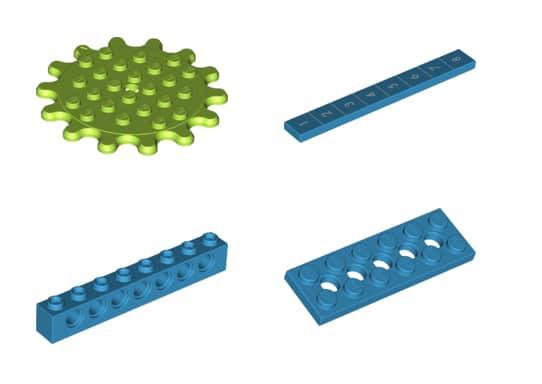LEGO 45401 Bricq Motion Neue Teile