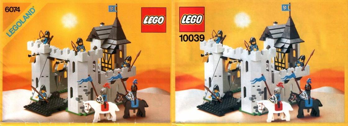 LEGO 6074 10039 Ritterburg Ritterschloss