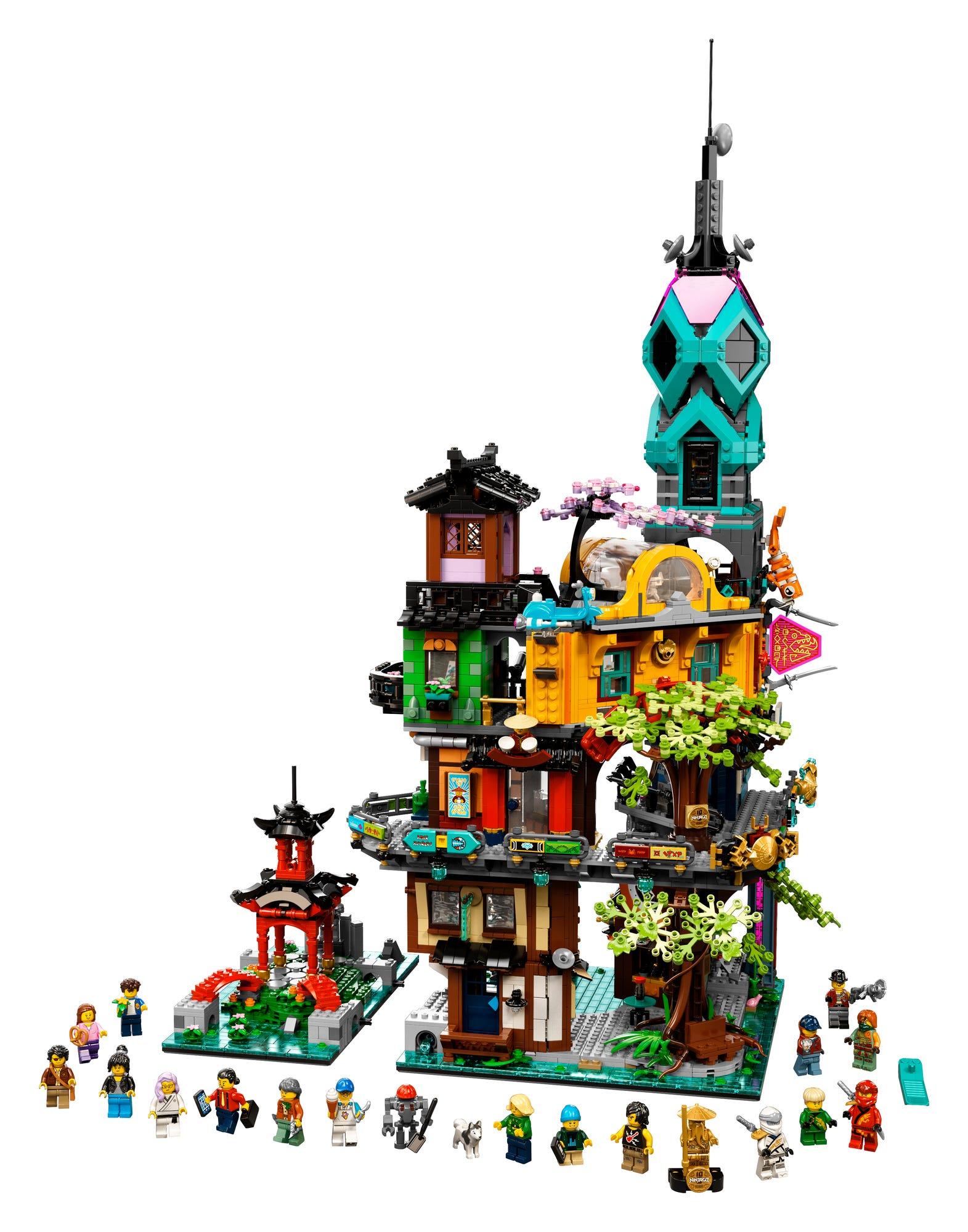 LEGO 71741 LEGO Ninjago City Gardens (13)