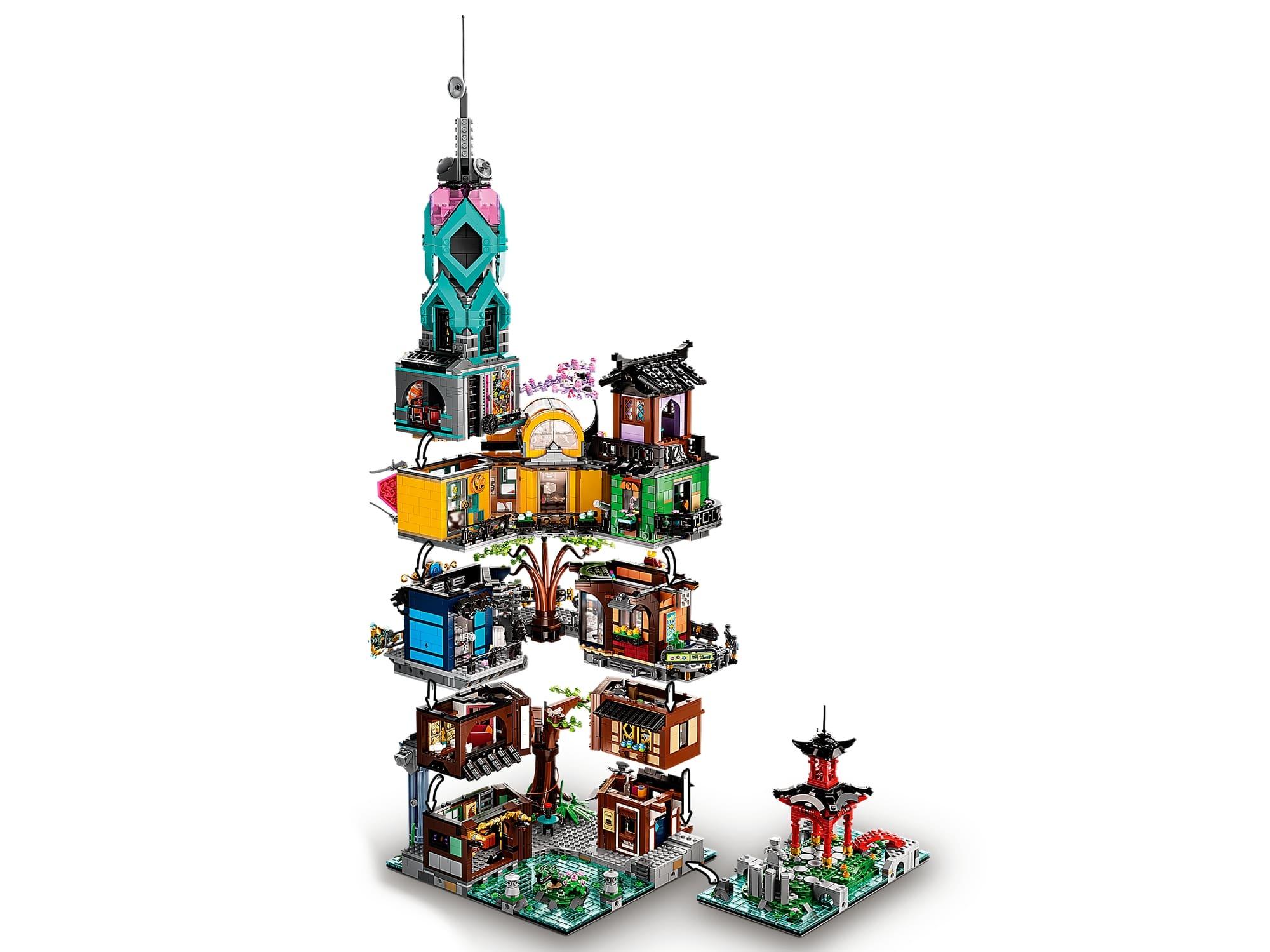 LEGO 71741 LEGO Ninjago City Gardens (19)
