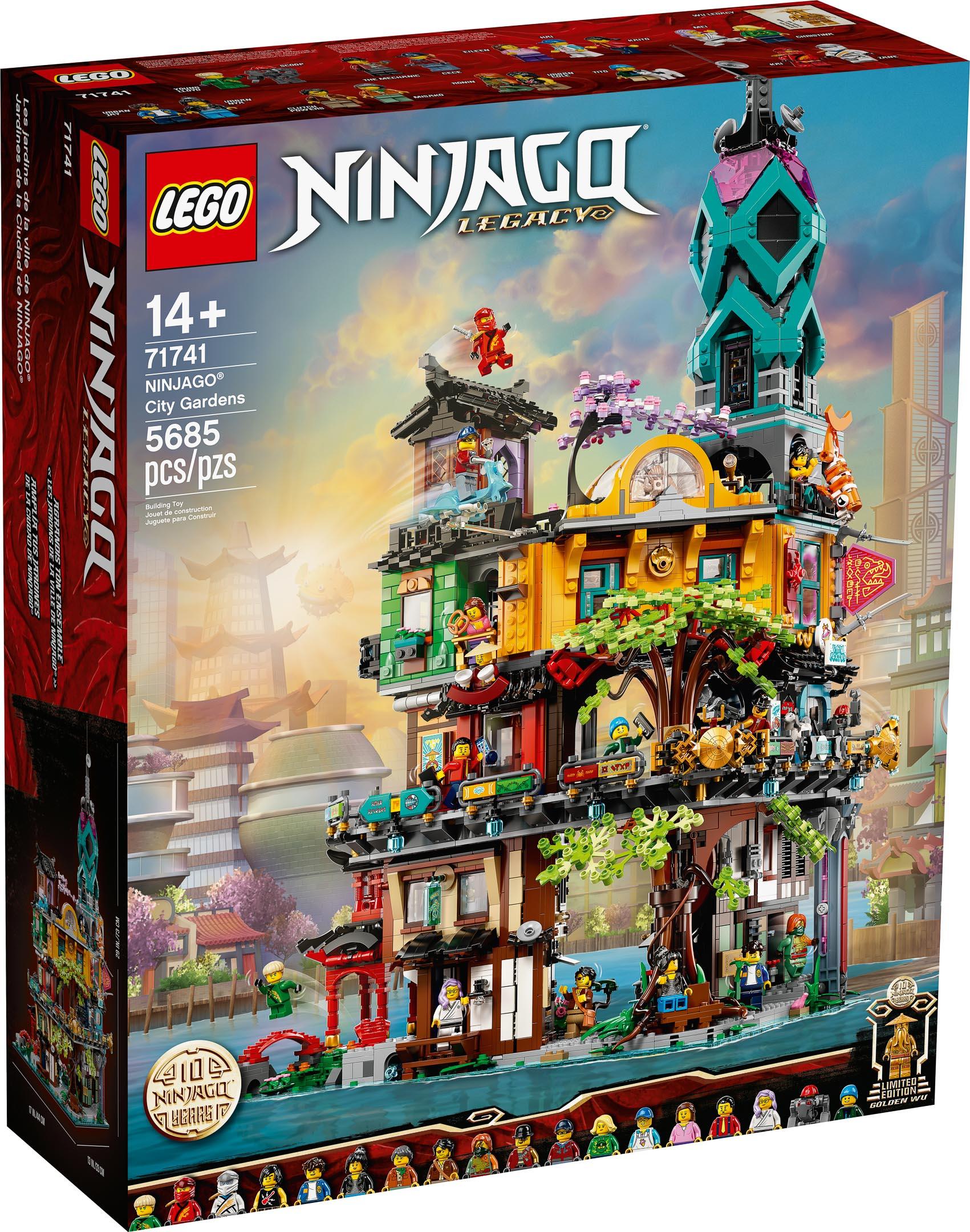 LEGO 71741 Ninjago City Gardens (1)