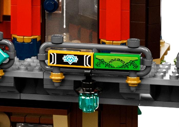 LEGO 71741 Ninjago City Gardens Anspielung02