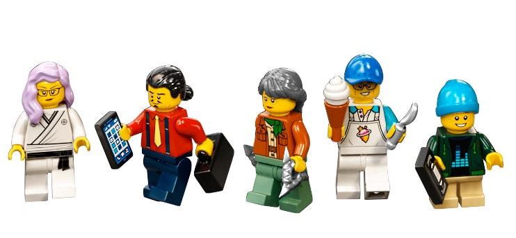 LEGO 71741 Ninjago City Gardens Minifiguren 02