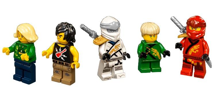 LEGO 71741 Ninjago City Gardens Minifiguren 03