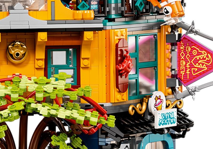 LEGO 71741 Ninjago City Gardens Neue Teiel02
