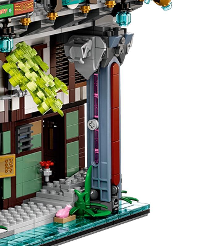LEGO 71741 Ninjago City Gardens Neue Teile 03