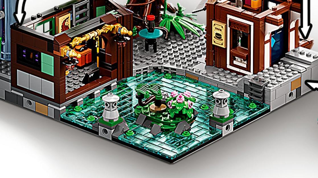 LEGO 71741 Ninjago City Gardens Neue Teile 04