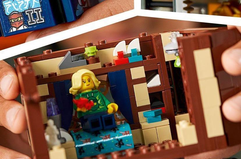 LEGO 71741 Ninjago City Gardens Neue Teile 08