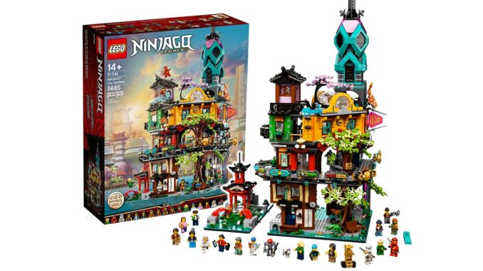 LEGO 71741 Ninjago City Gardens Titelbild