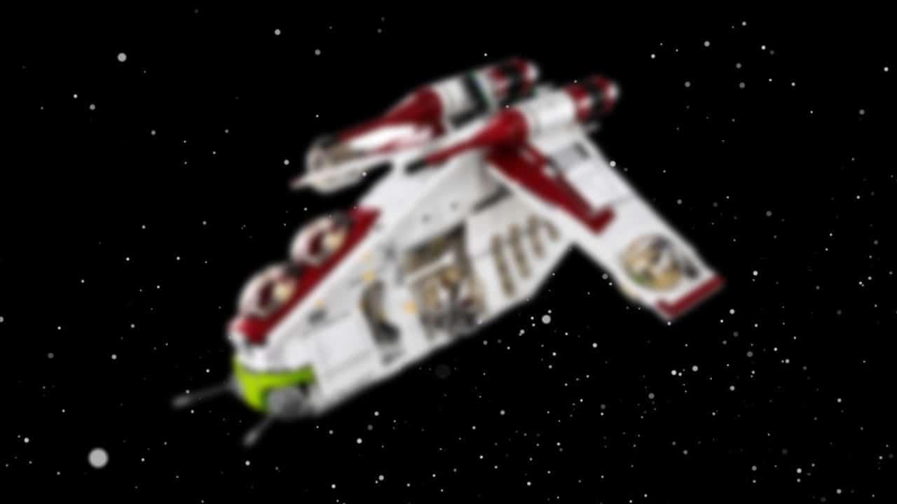 LEGO 75309 Gunship Star Wars