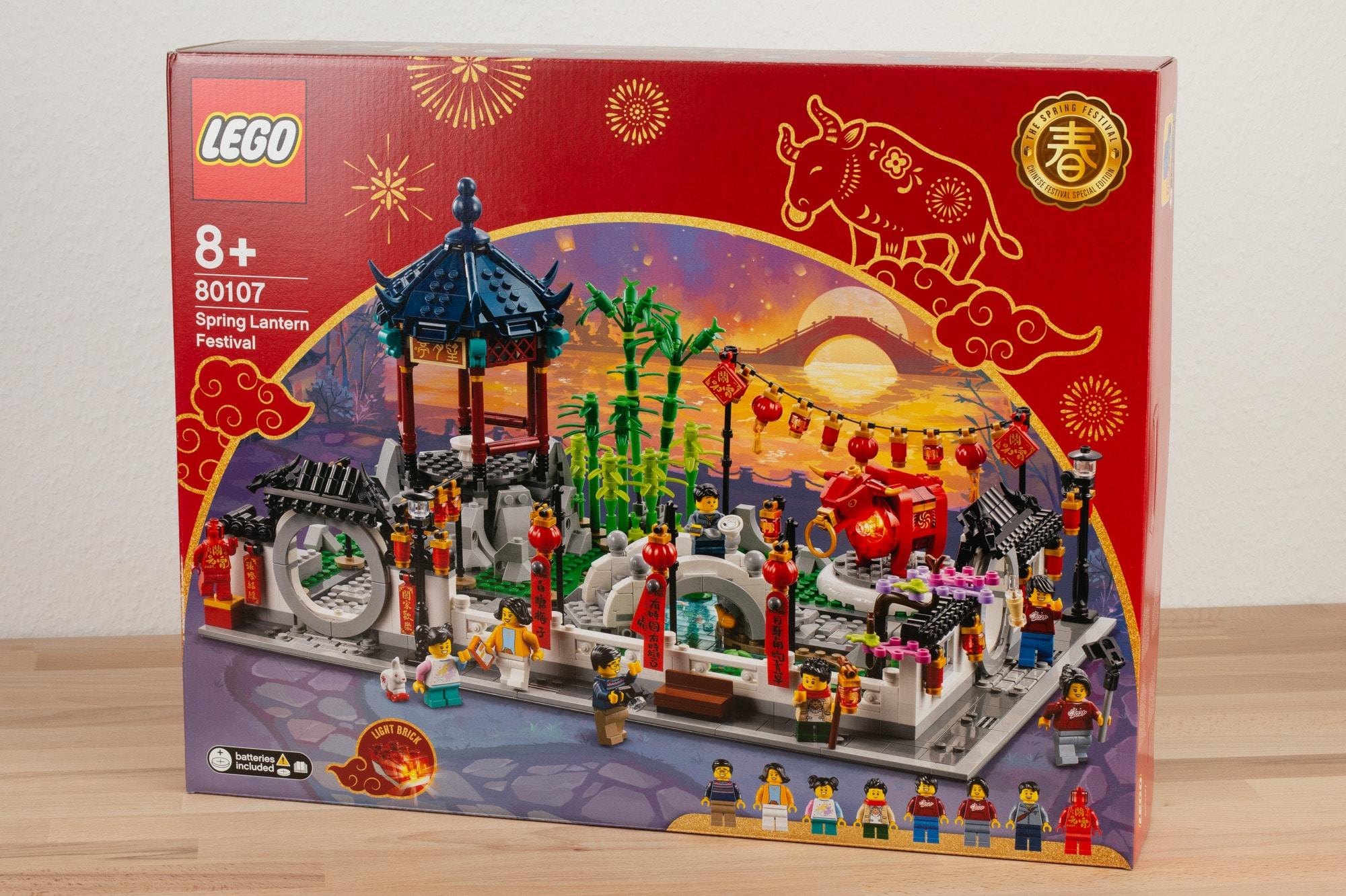 LEGO 80107 Fruehlingslaternenfest Chinesisches Neujahr 2