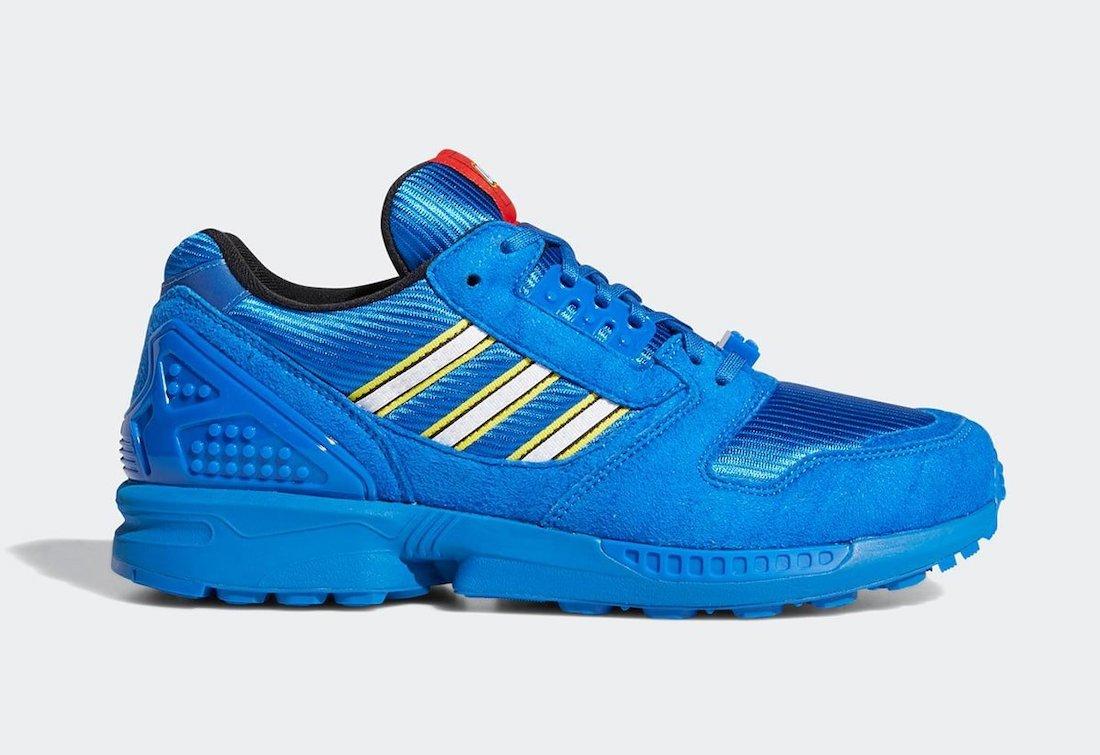 LEGO Adidas Zx 8000 Fy7083 Blau (2)