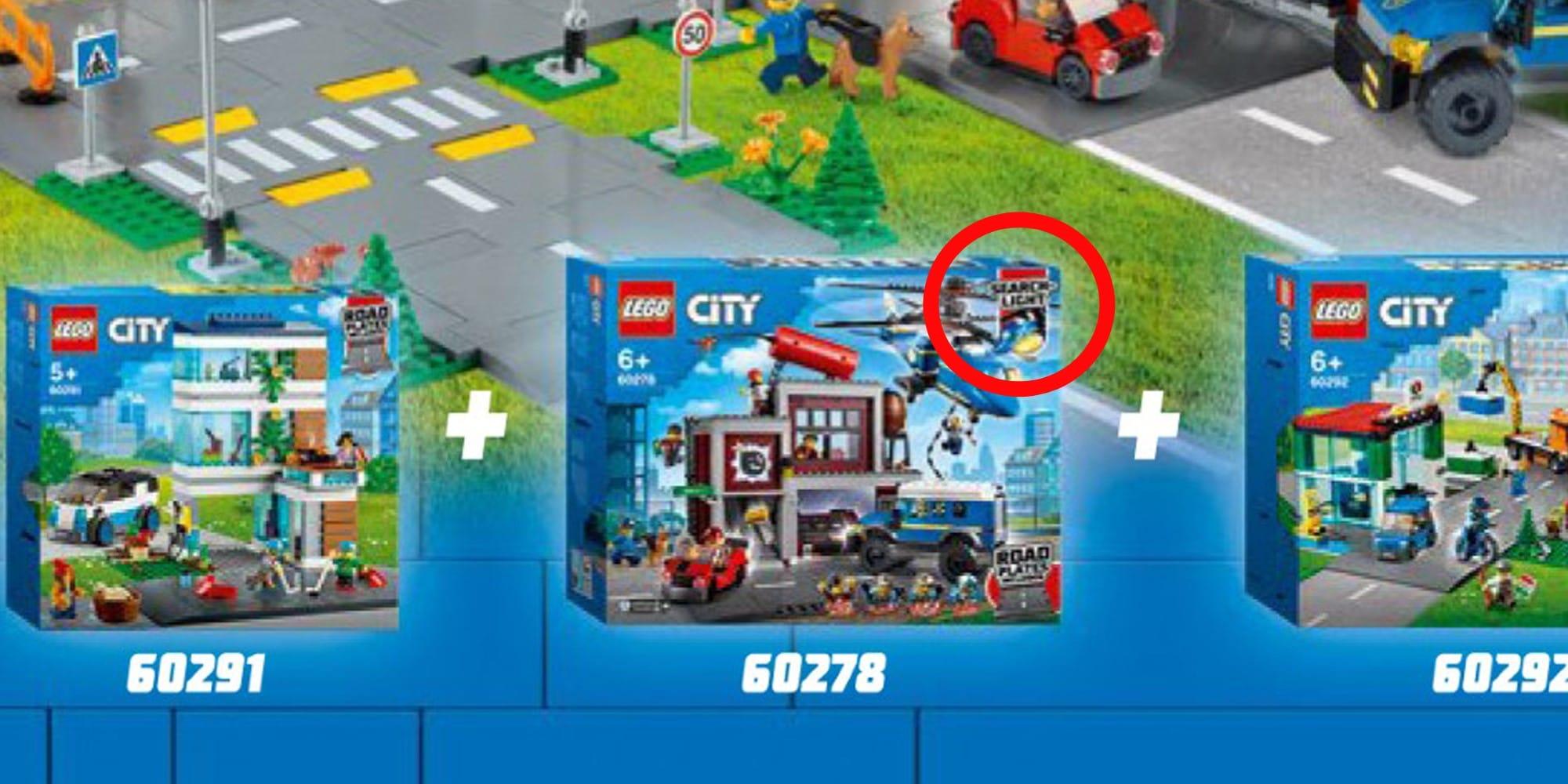 LEGO City 60278 Suche Nach Dem Ganovenversteck Erstes Bild Ovp