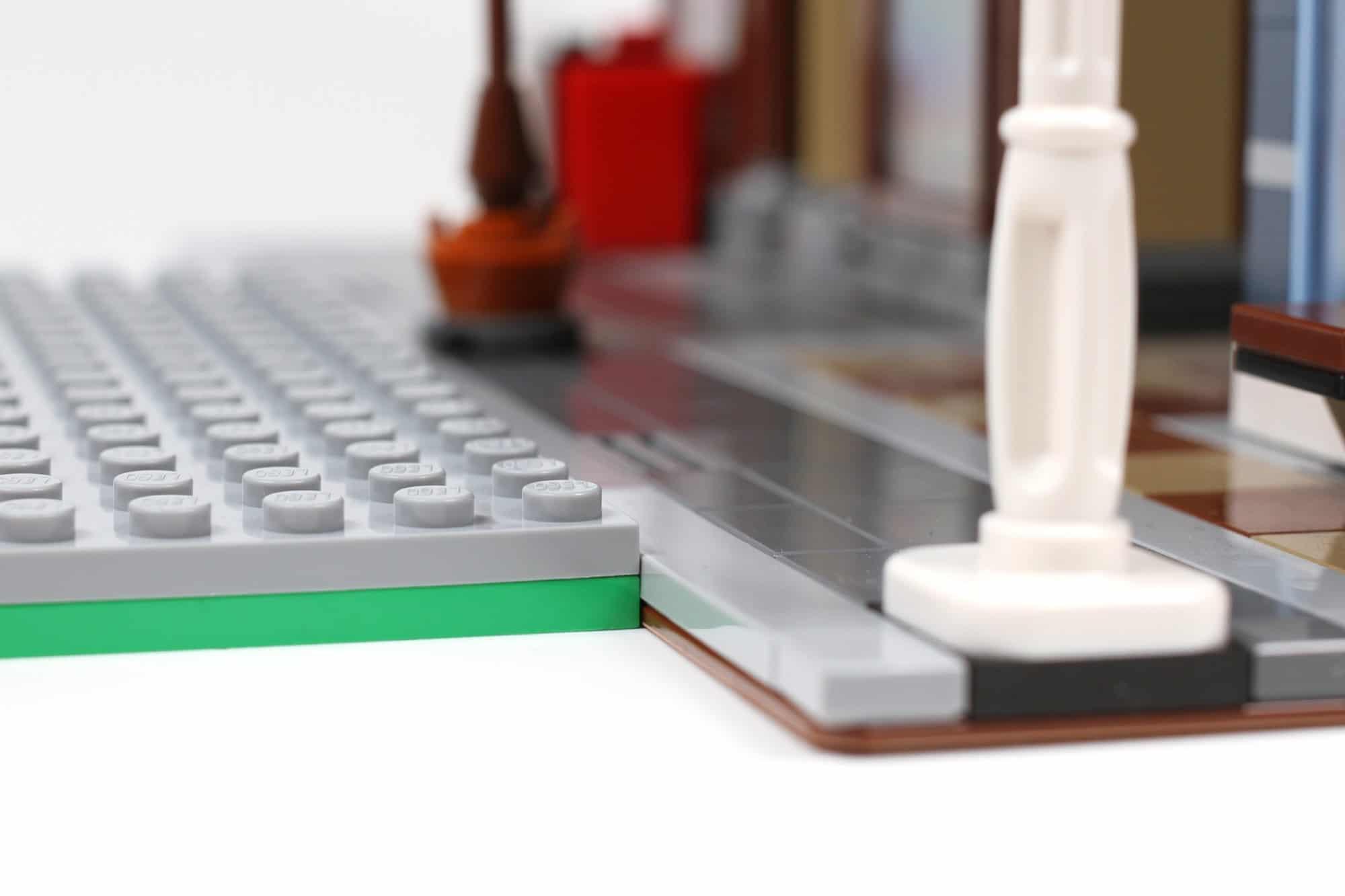 LEGO City Straßenplatten Einordnung Höhe Grundplatte Vs Modularhaus