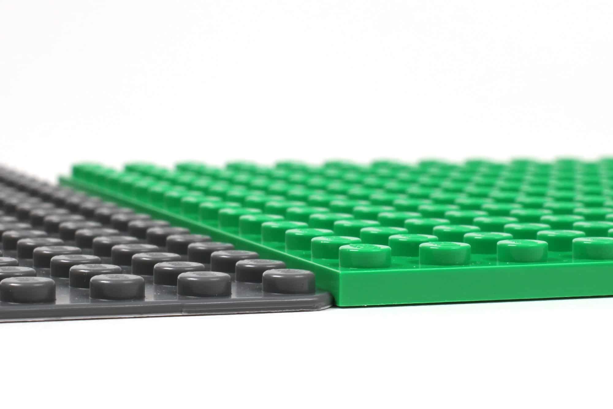 LEGO City Straßenplatten Einordnung Höhe Grundplatte