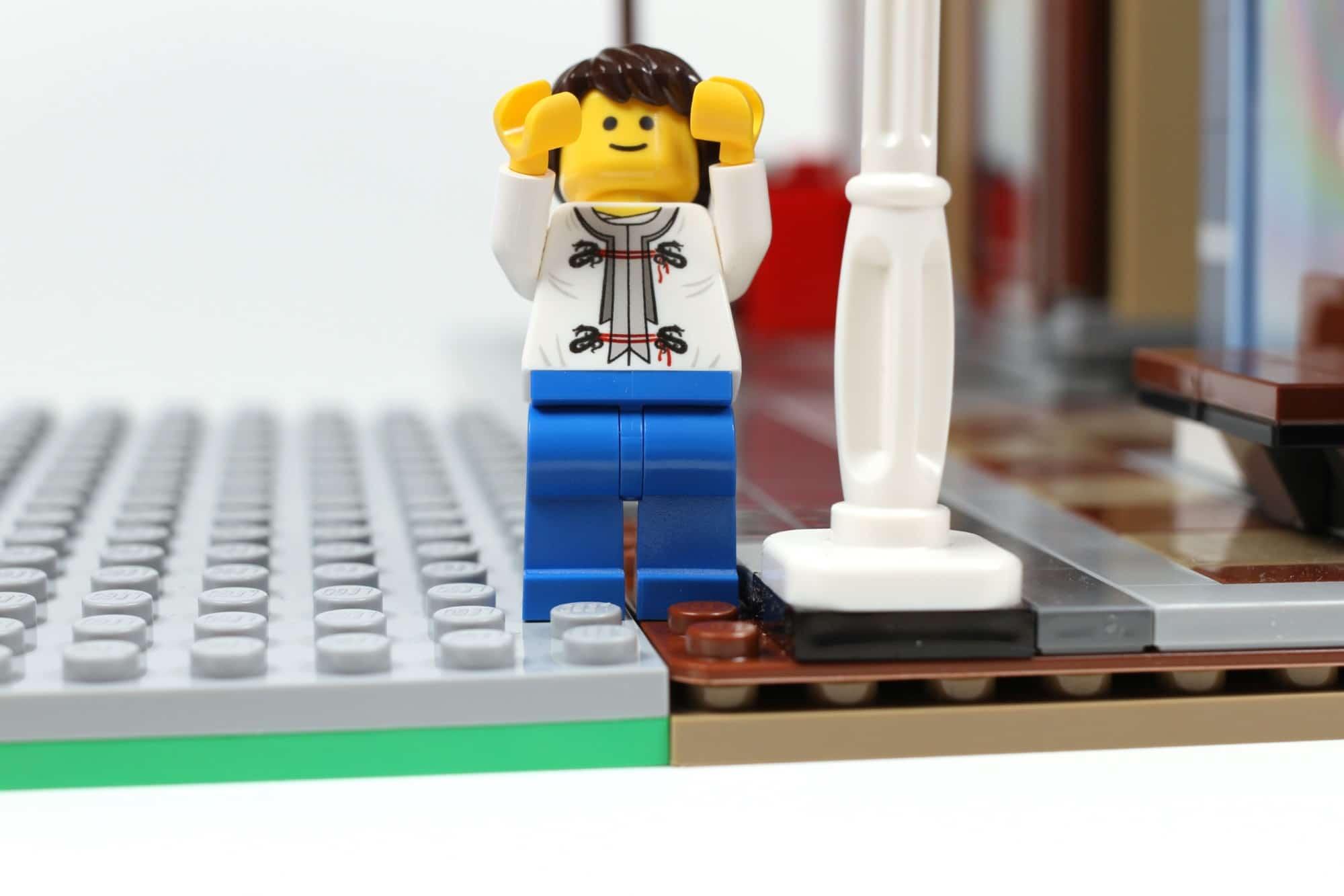 LEGO City Straßenplatten Einordnung Workaround Höhenunterschied