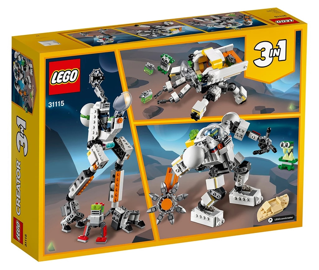 LEGO Creator 31115 Weltraum Mech 8