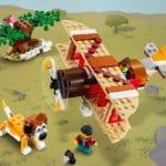 LEGO Creator 31116 Safari Baumhaus 3