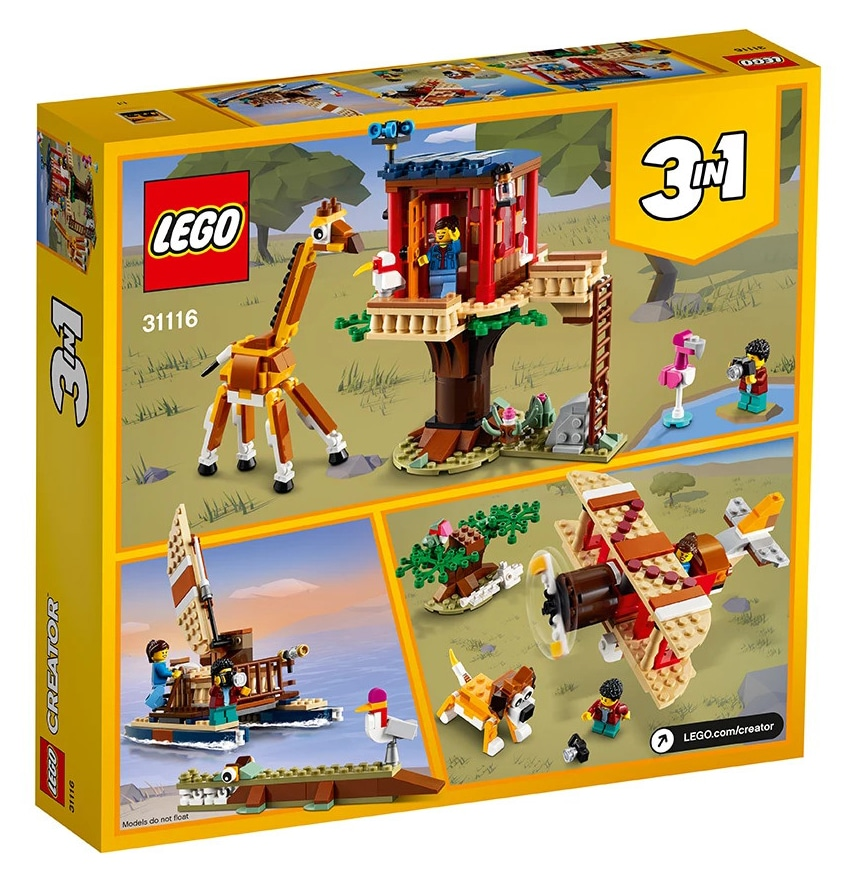LEGO Creator 31116 Safari Baumhaus 8