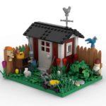 LEGO Garten Rendering Stonewars