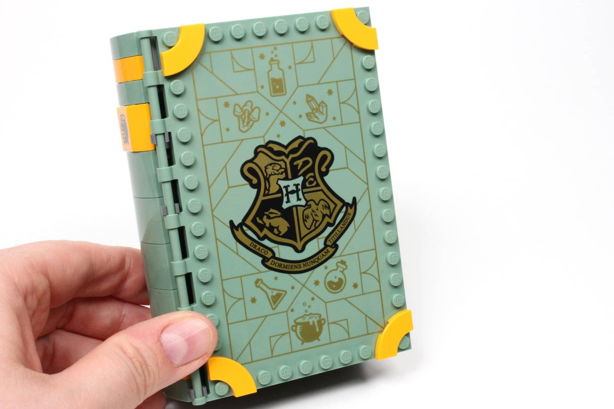 LEGO Harry Potter 76383 Hogwarts Moment Zaubertrankunterricht Buchcover