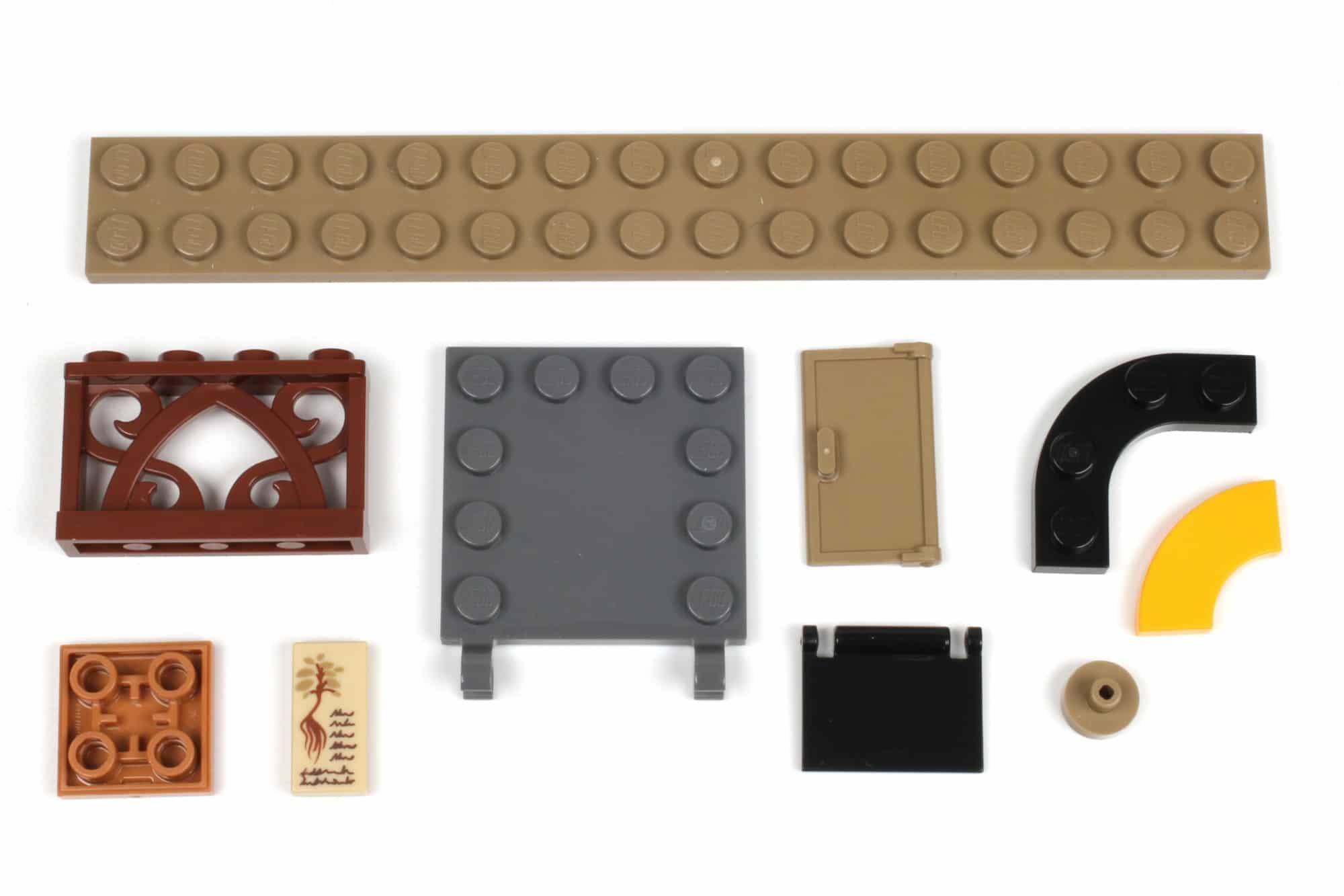 LEGO Harry Potter 76384 Hogwarts Moment Kräuterkundeunterricht Neue Teile