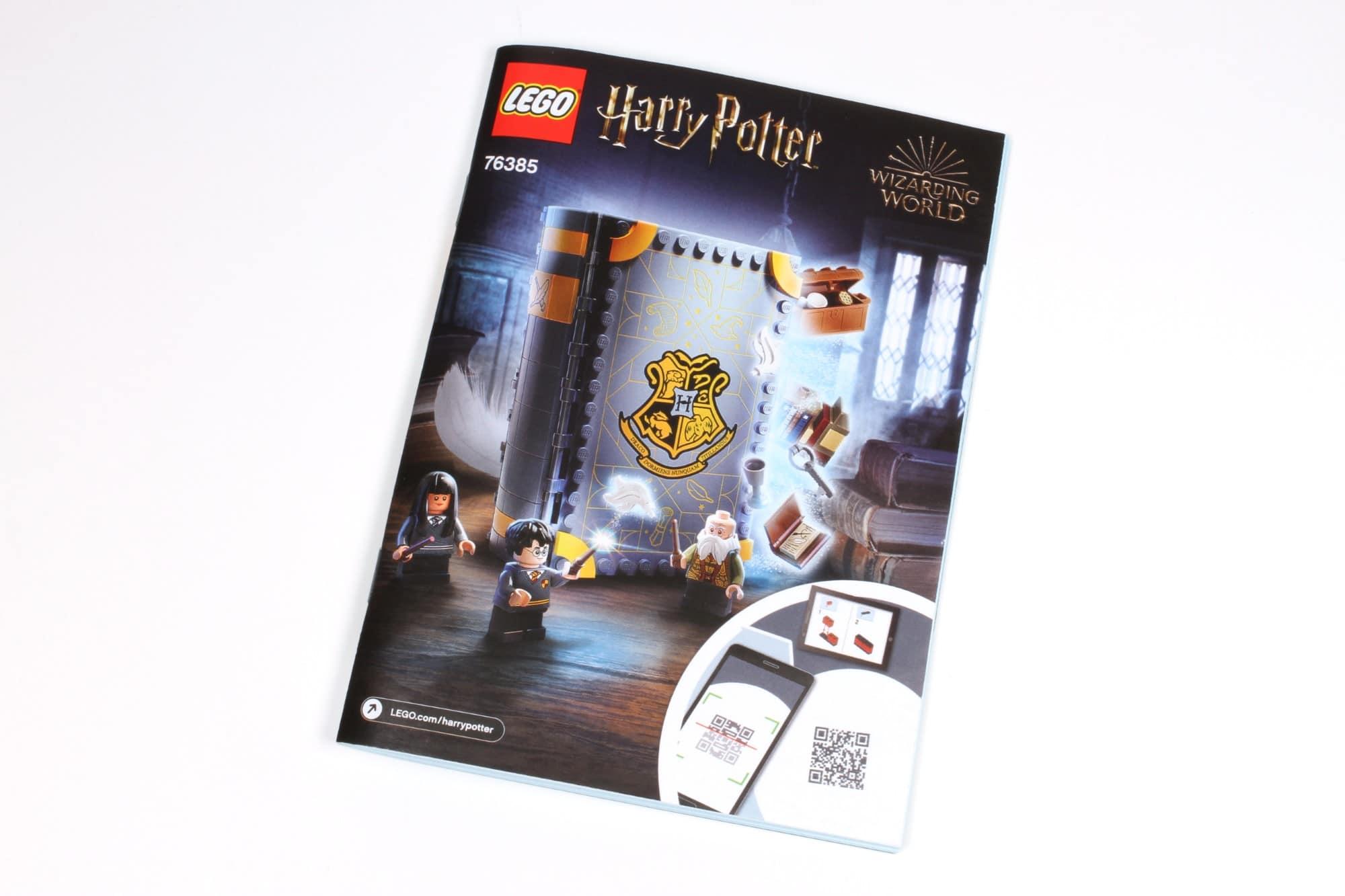 LEGO Harry Potter 76385 Hogwarts Moment Zauberkunstunterricht Anleitung