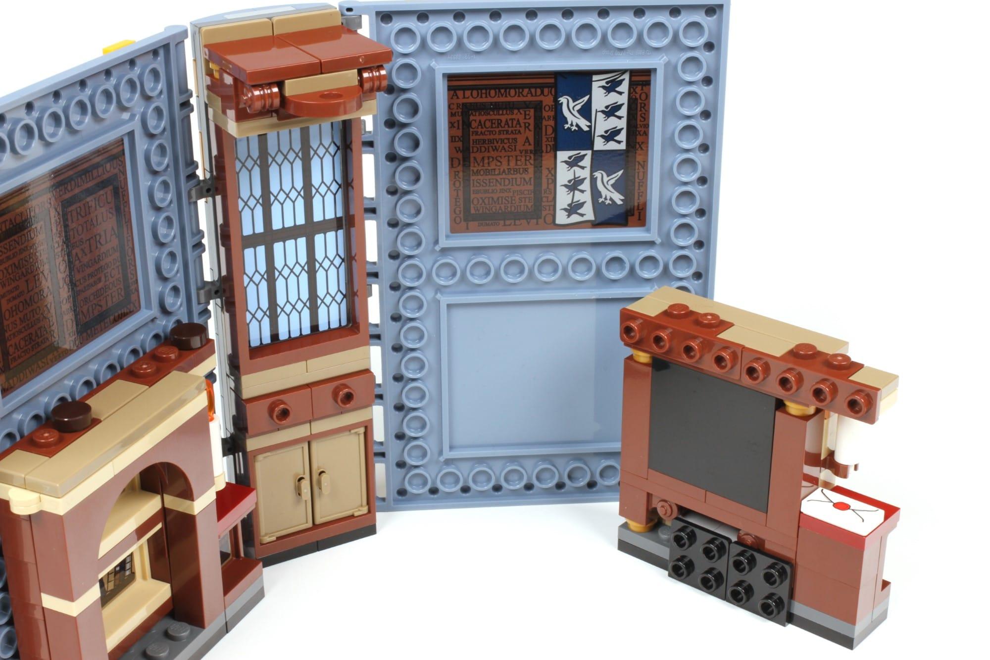 LEGO Harry Potter 76385 Hogwarts Moment Zauberkunstunterricht Bautechnik 2