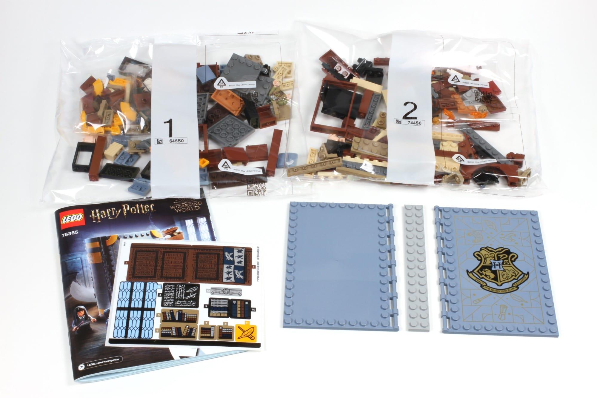 LEGO Harry Potter 76385 Hogwarts Moment Zauberkunstunterricht Inhalt