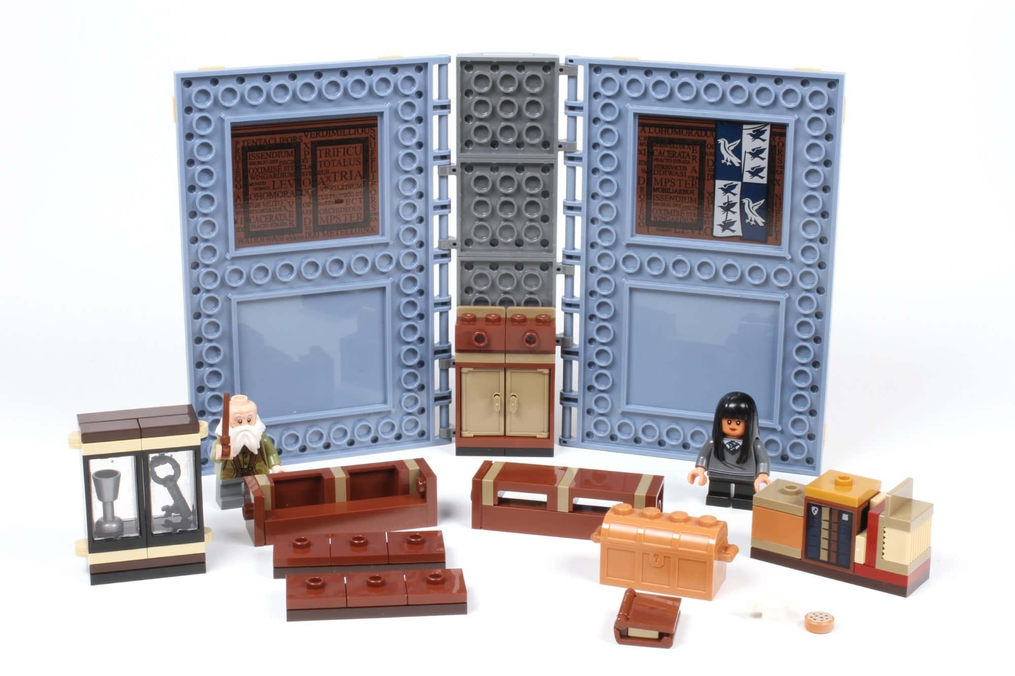 LEGO Harry Potter 76385 Hogwarts Moment Zauberkunstunterricht Schritt 1