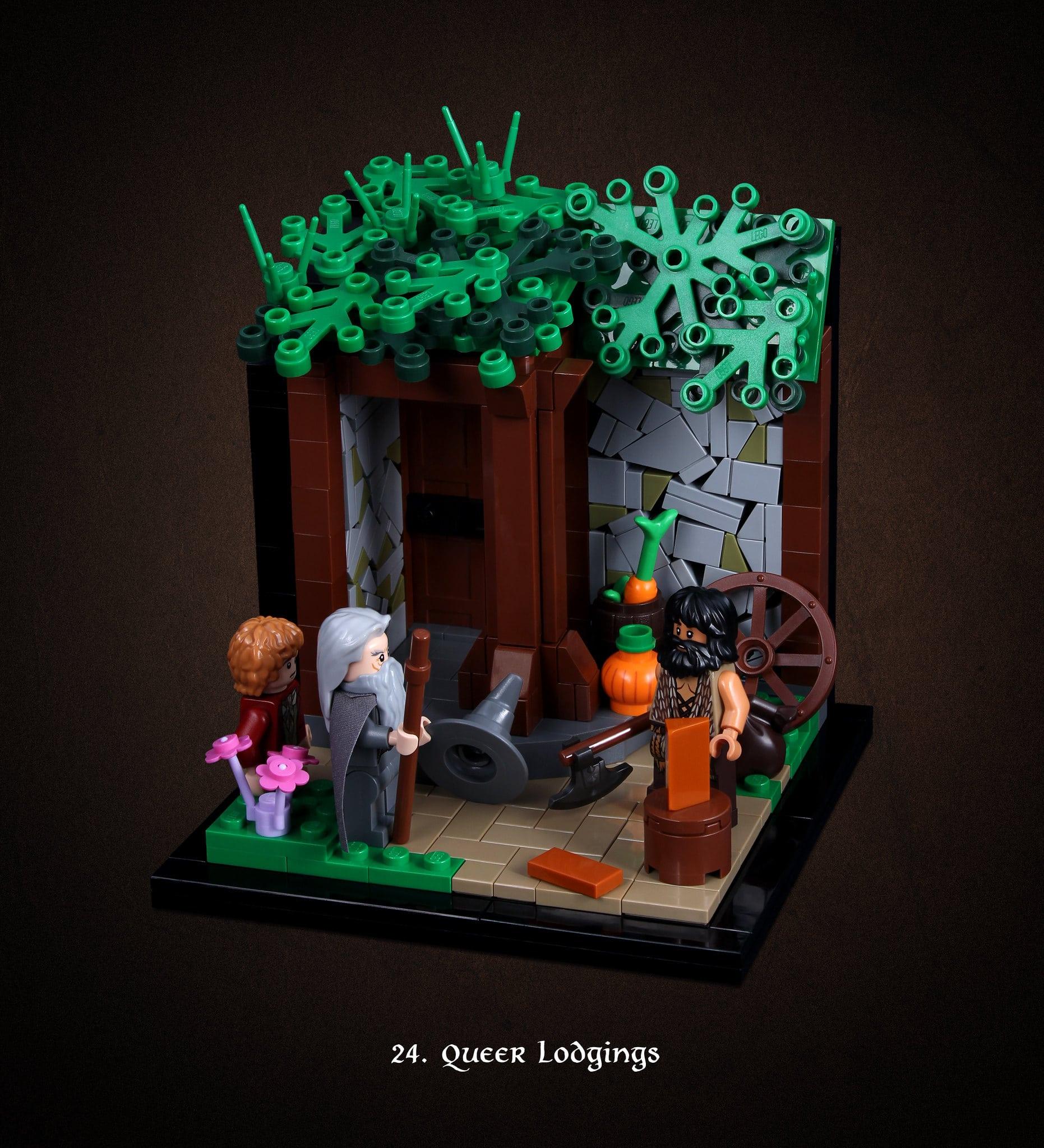LEGO Hobbit Thorsten Bonsch Vignetten Serie (24)