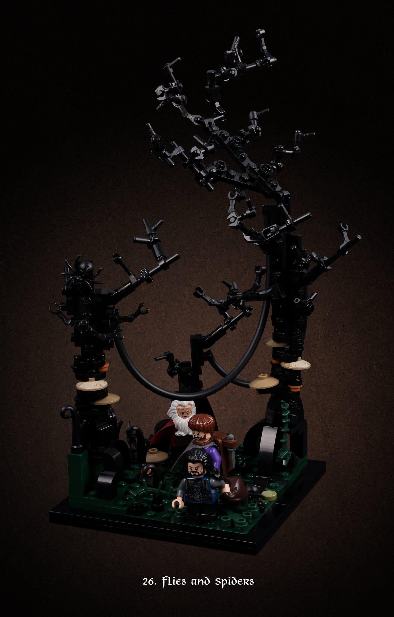 LEGO Hobbit Thorsten Bonsch Vignetten Serie (26)
