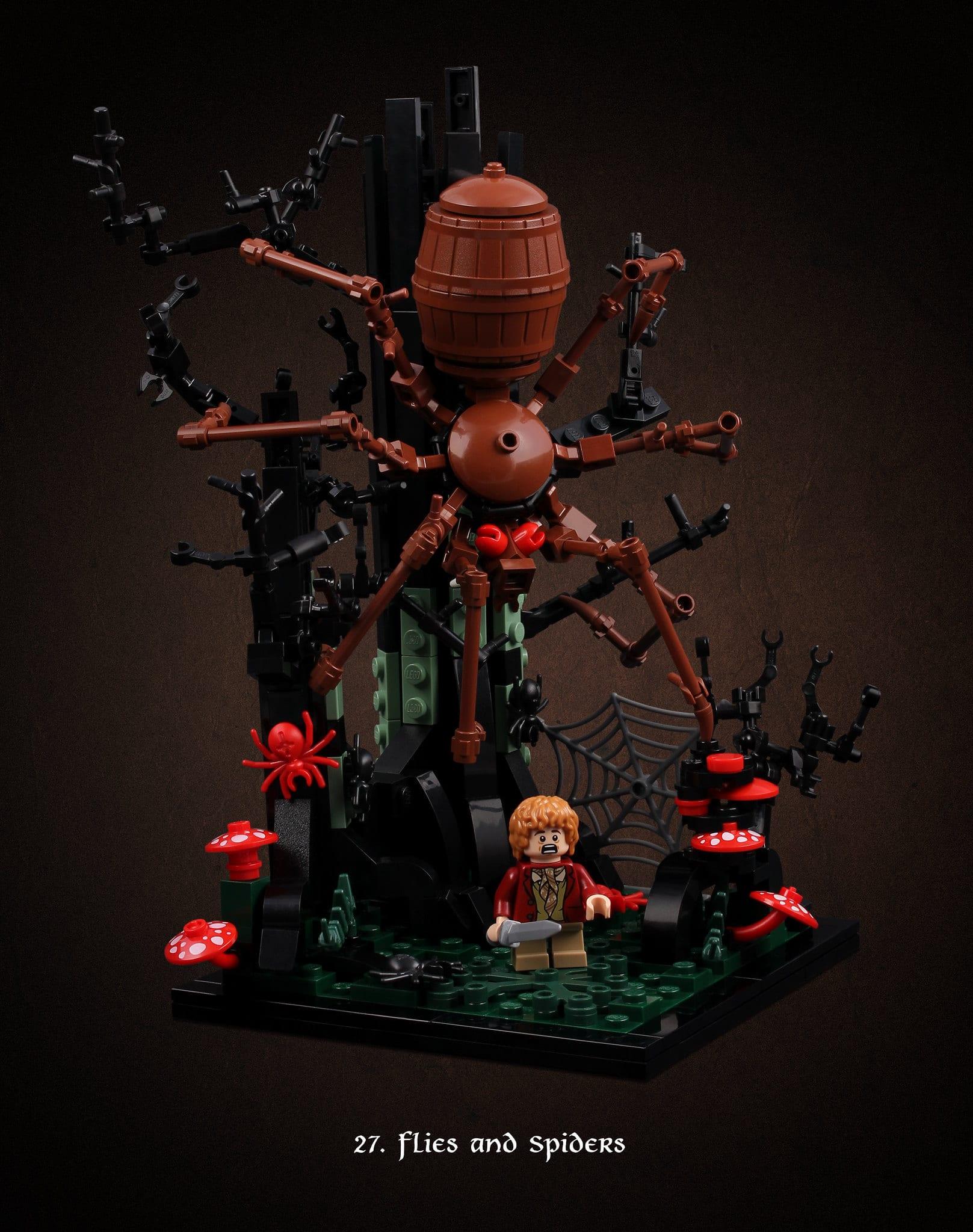 LEGO Hobbit Thorsten Bonsch Vignetten Serie (27)