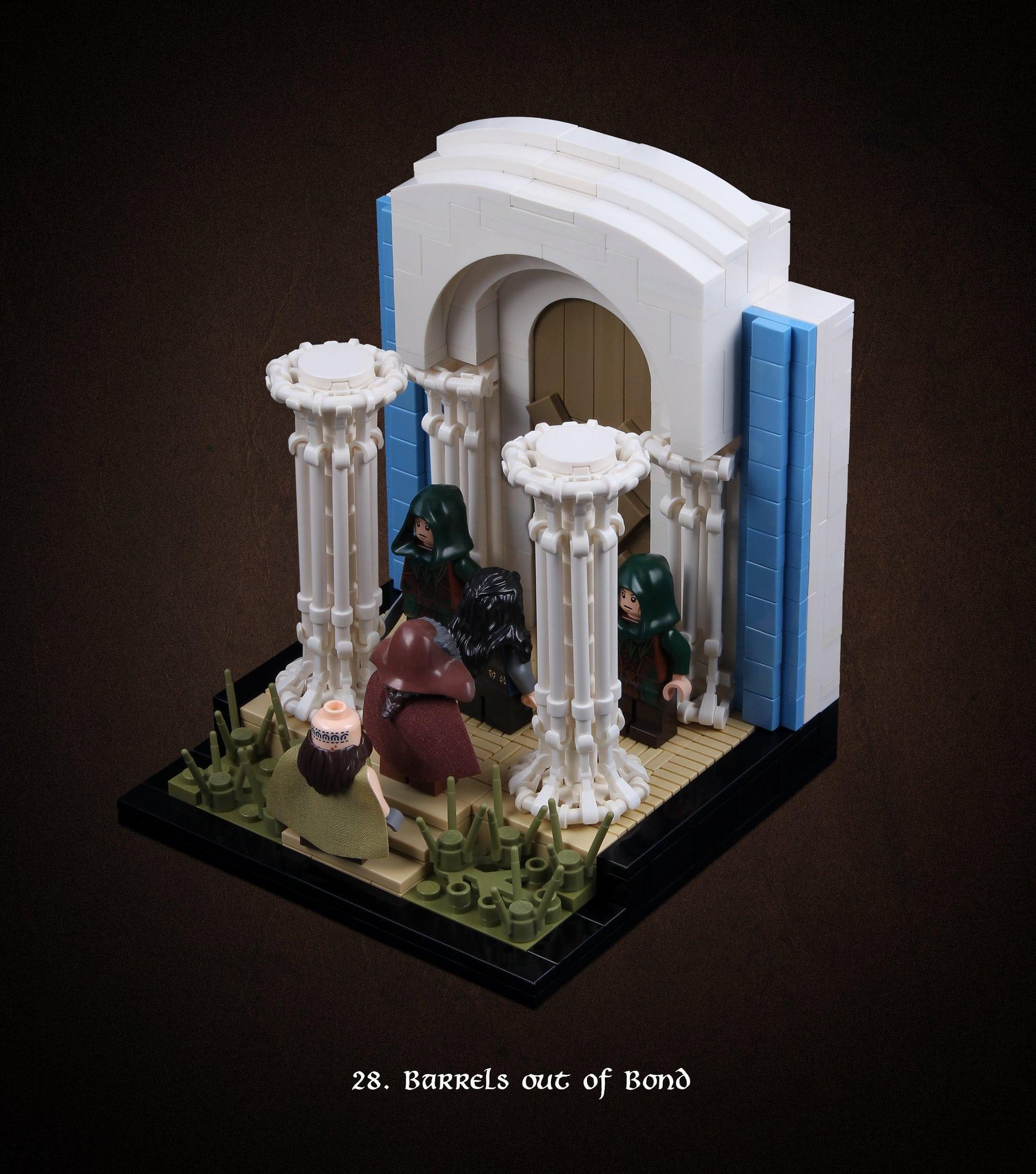 LEGO Hobbit Thorsten Bonsch Vignetten Serie (28)