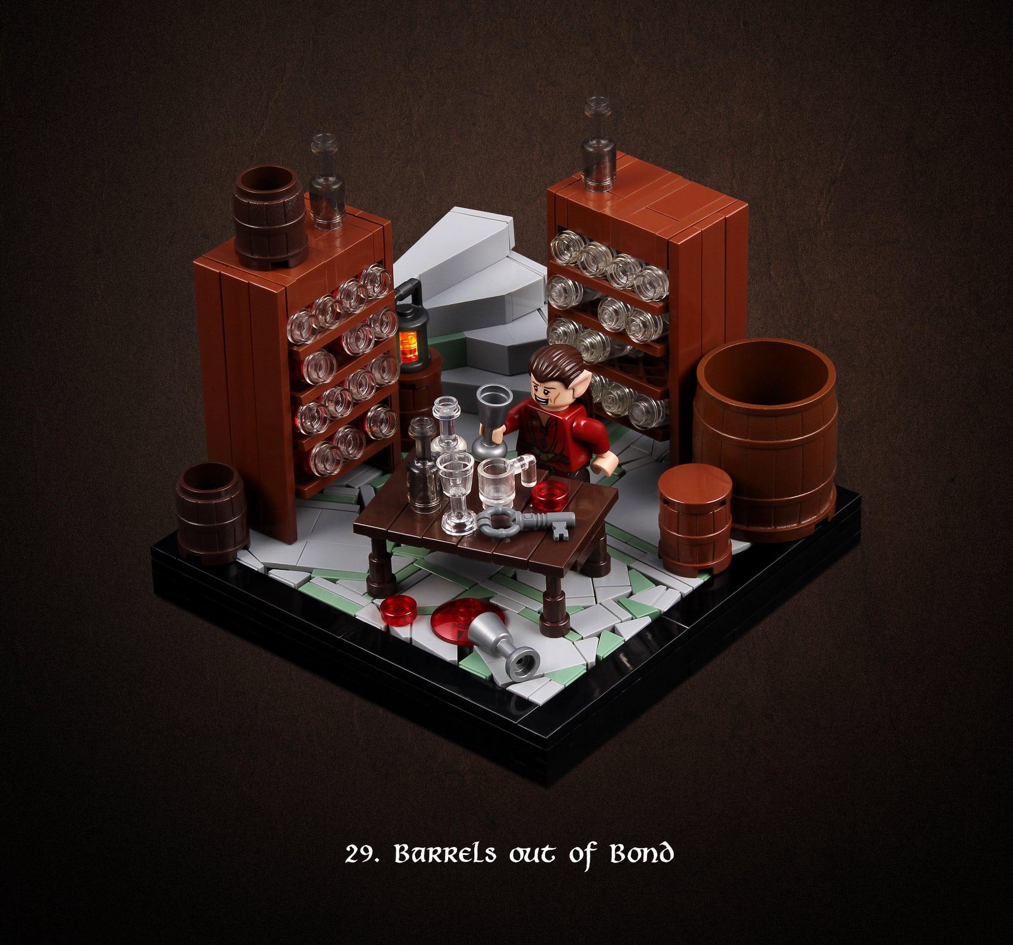 LEGO Hobbit Thorsten Bonsch Vignetten Serie (29)