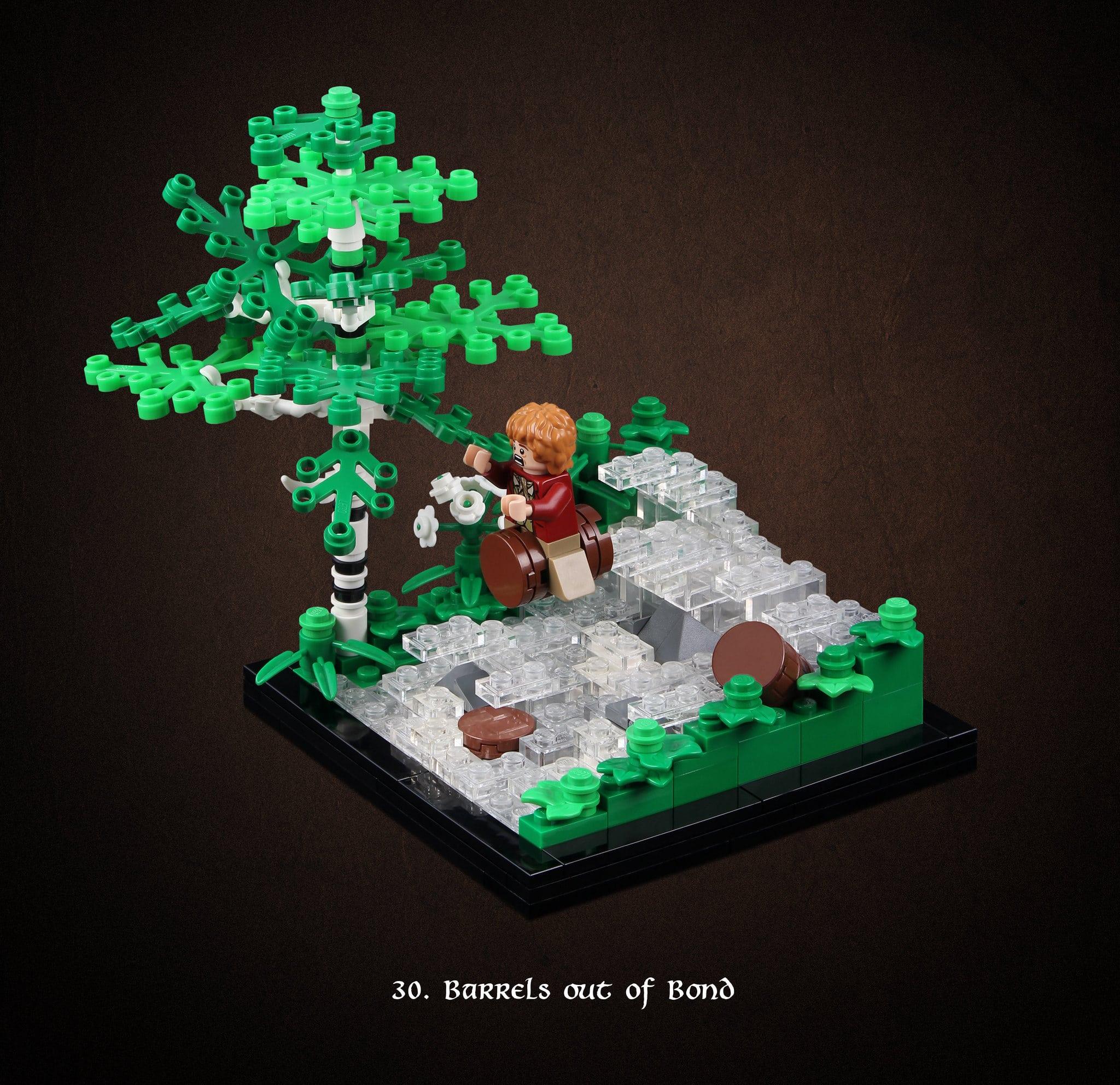 LEGO Hobbit Thorsten Bonsch Vignetten Serie (30)