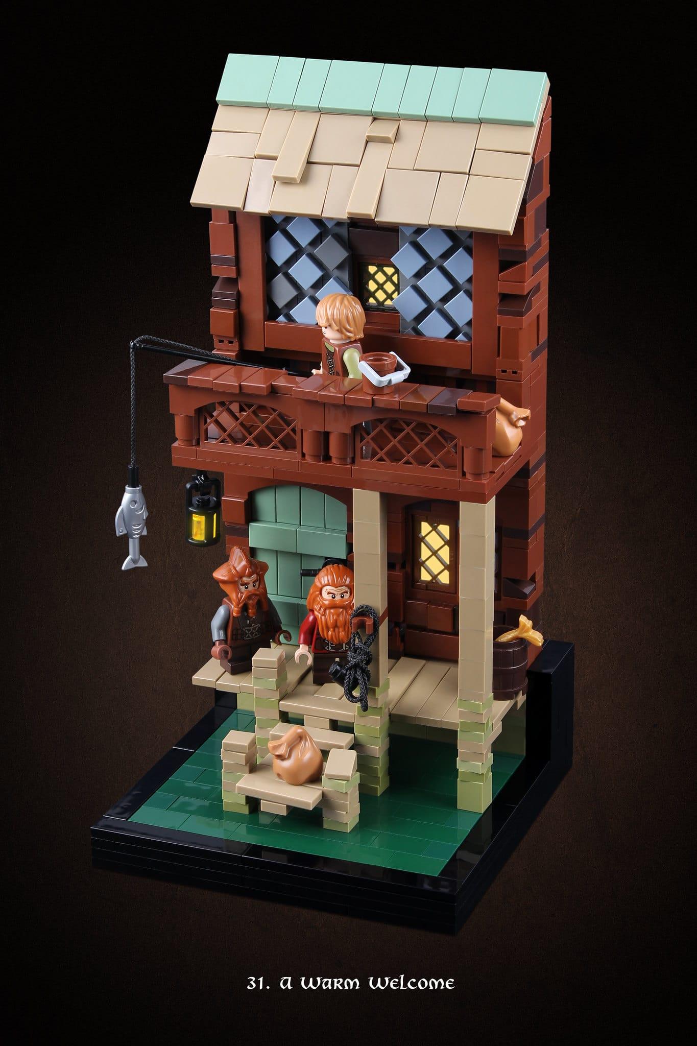 LEGO Hobbit Thorsten Bonsch Vignetten Serie (31)