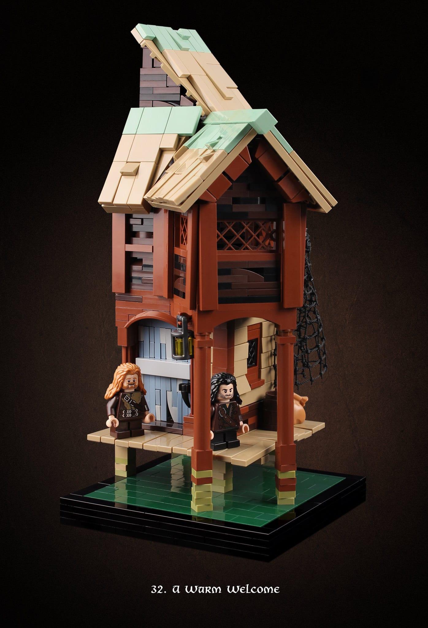 LEGO Hobbit Thorsten Bonsch Vignetten Serie (32)