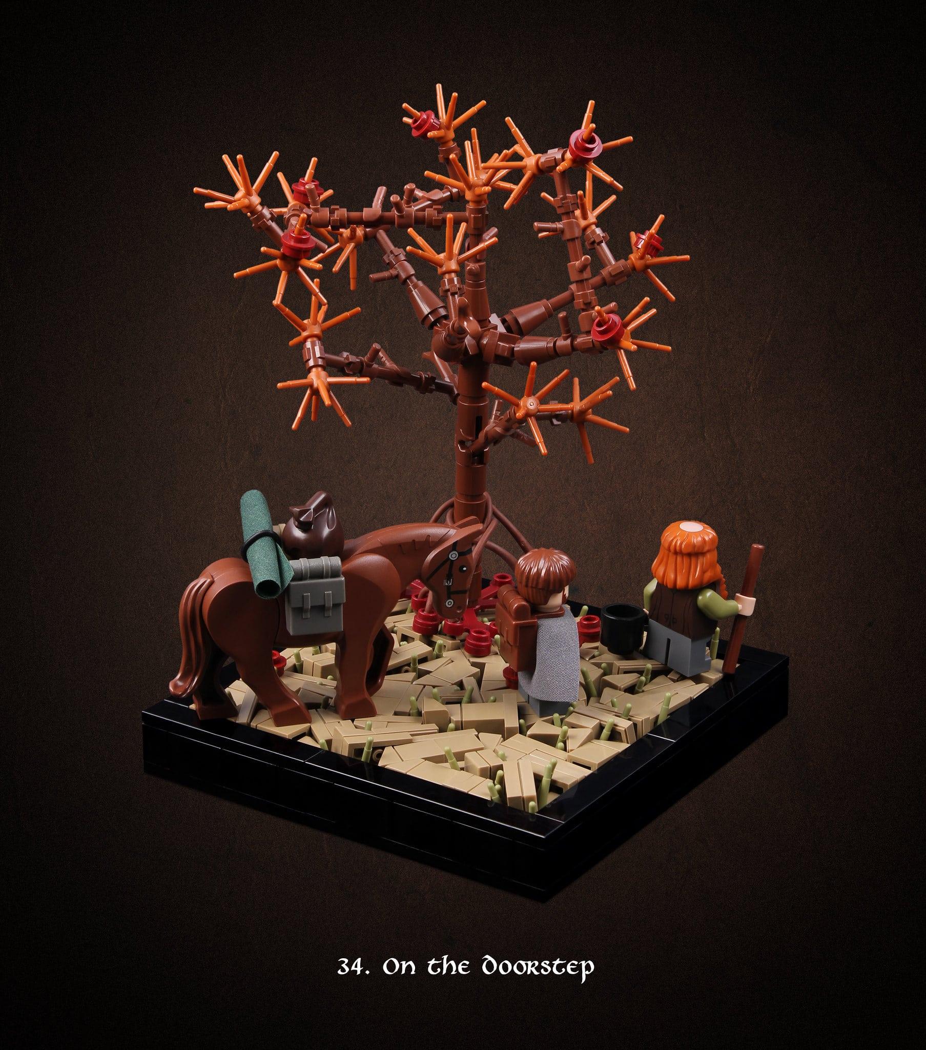 LEGO Hobbit Thorsten Bonsch Vignetten Serie (34)