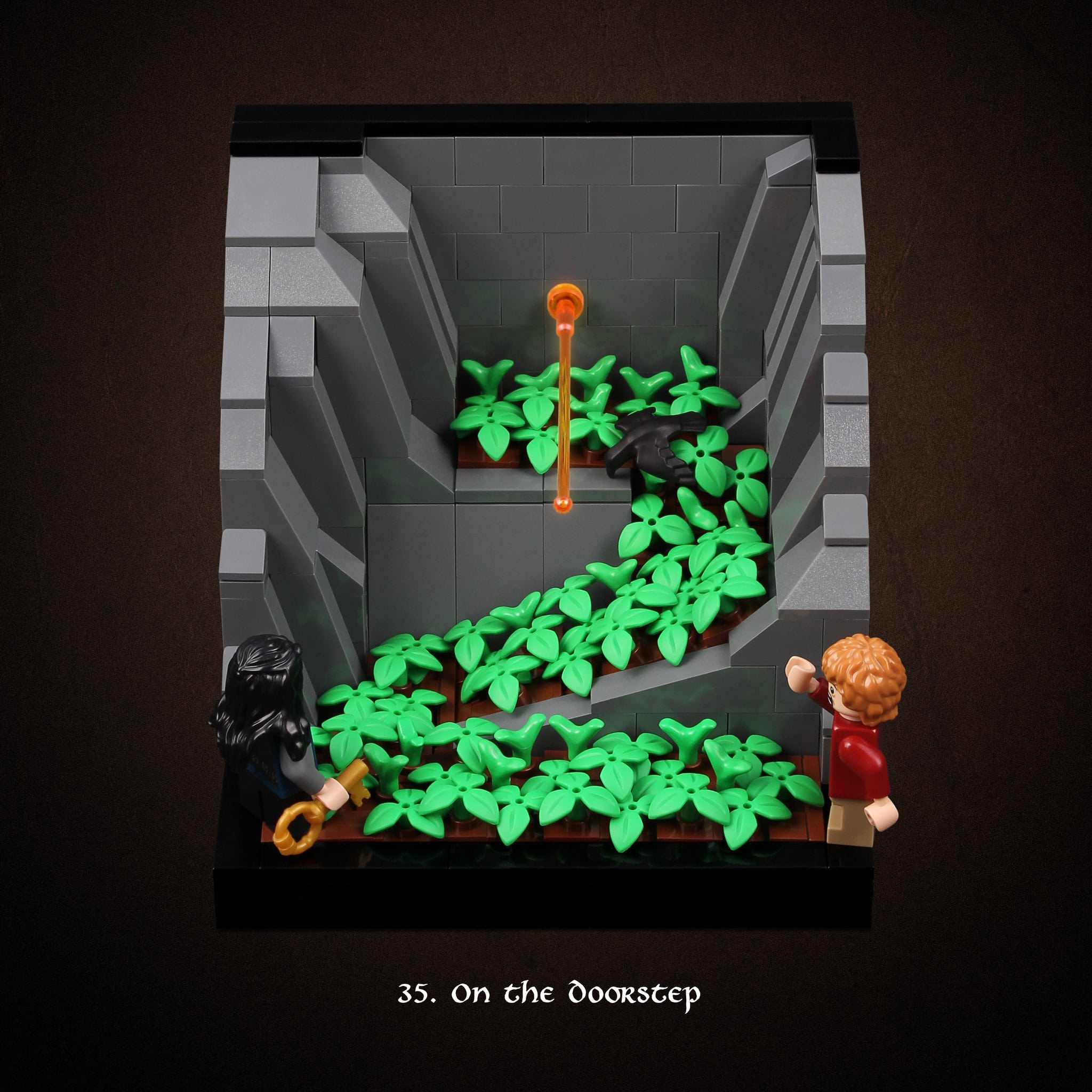 LEGO Hobbit Thorsten Bonsch Vignetten Serie (35)