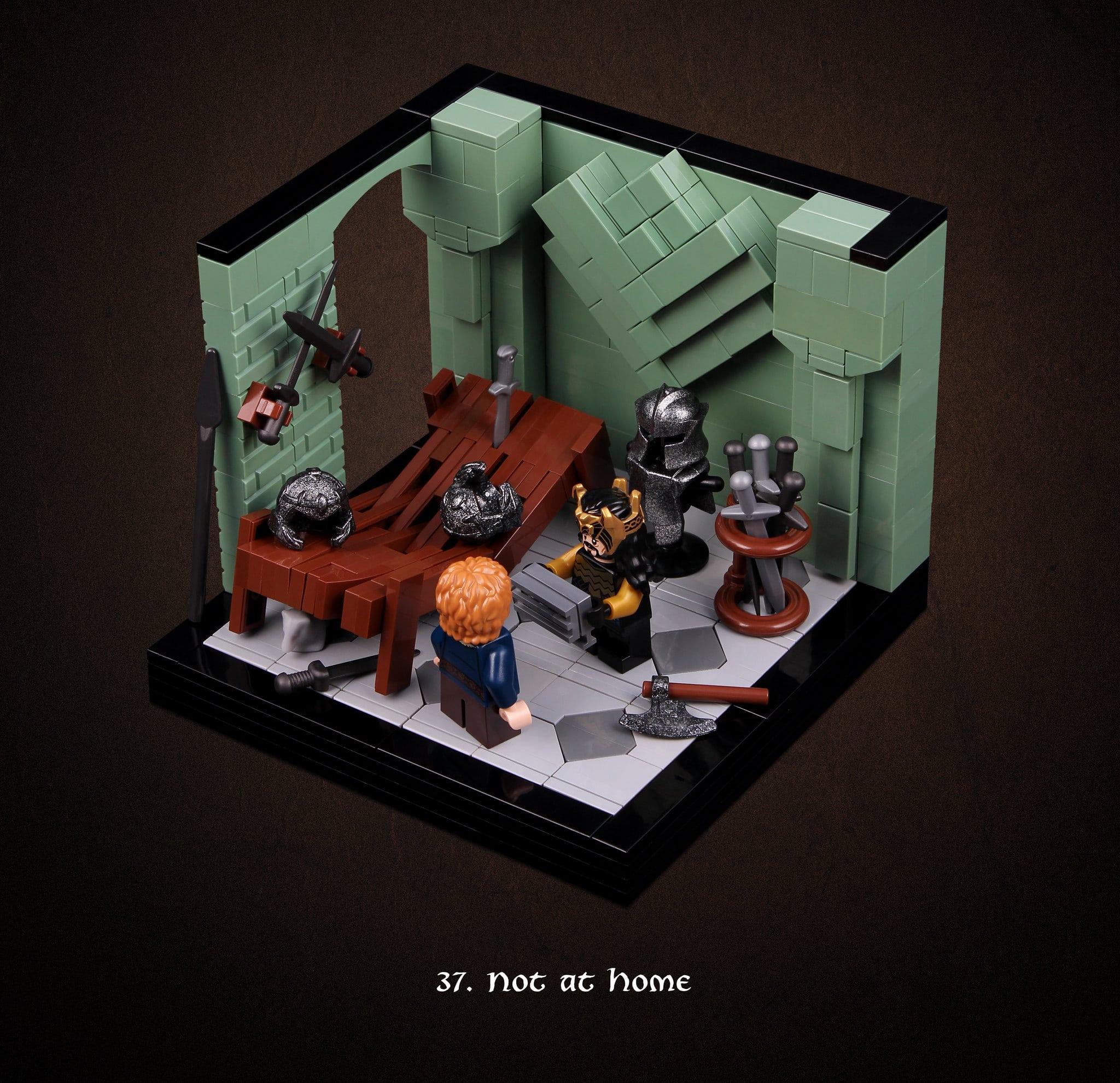 LEGO Hobbit Thorsten Bonsch Vignetten Serie (37)