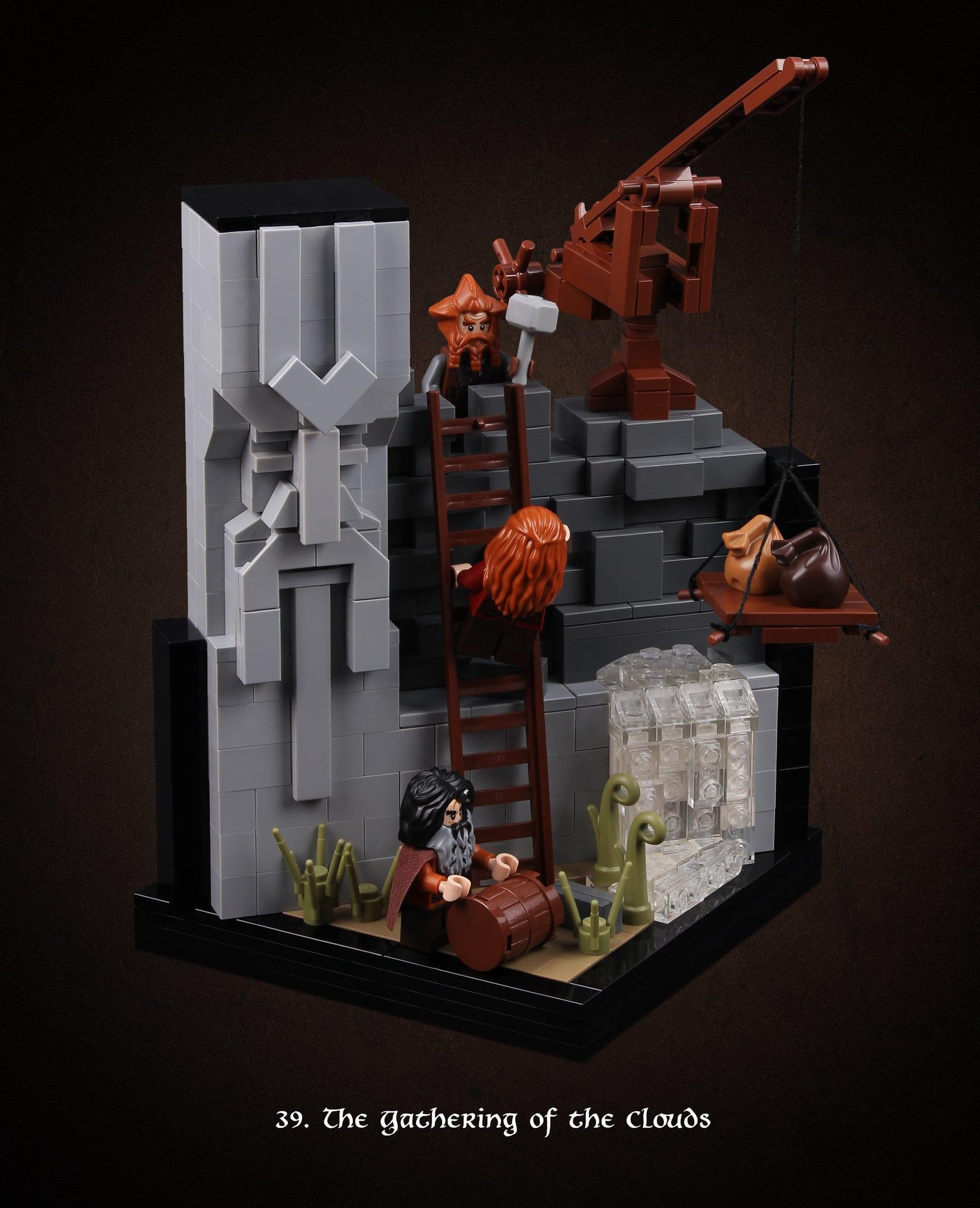LEGO Hobbit Thorsten Bonsch Vignetten Serie (39)