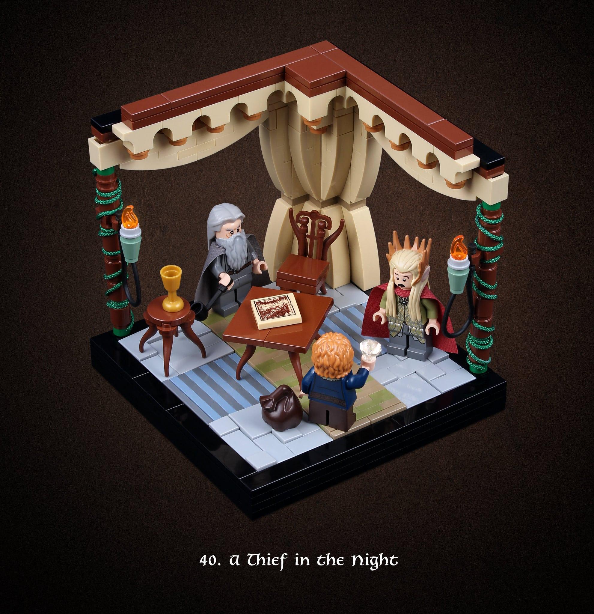 LEGO Hobbit Thorsten Bonsch Vignetten Serie (40)