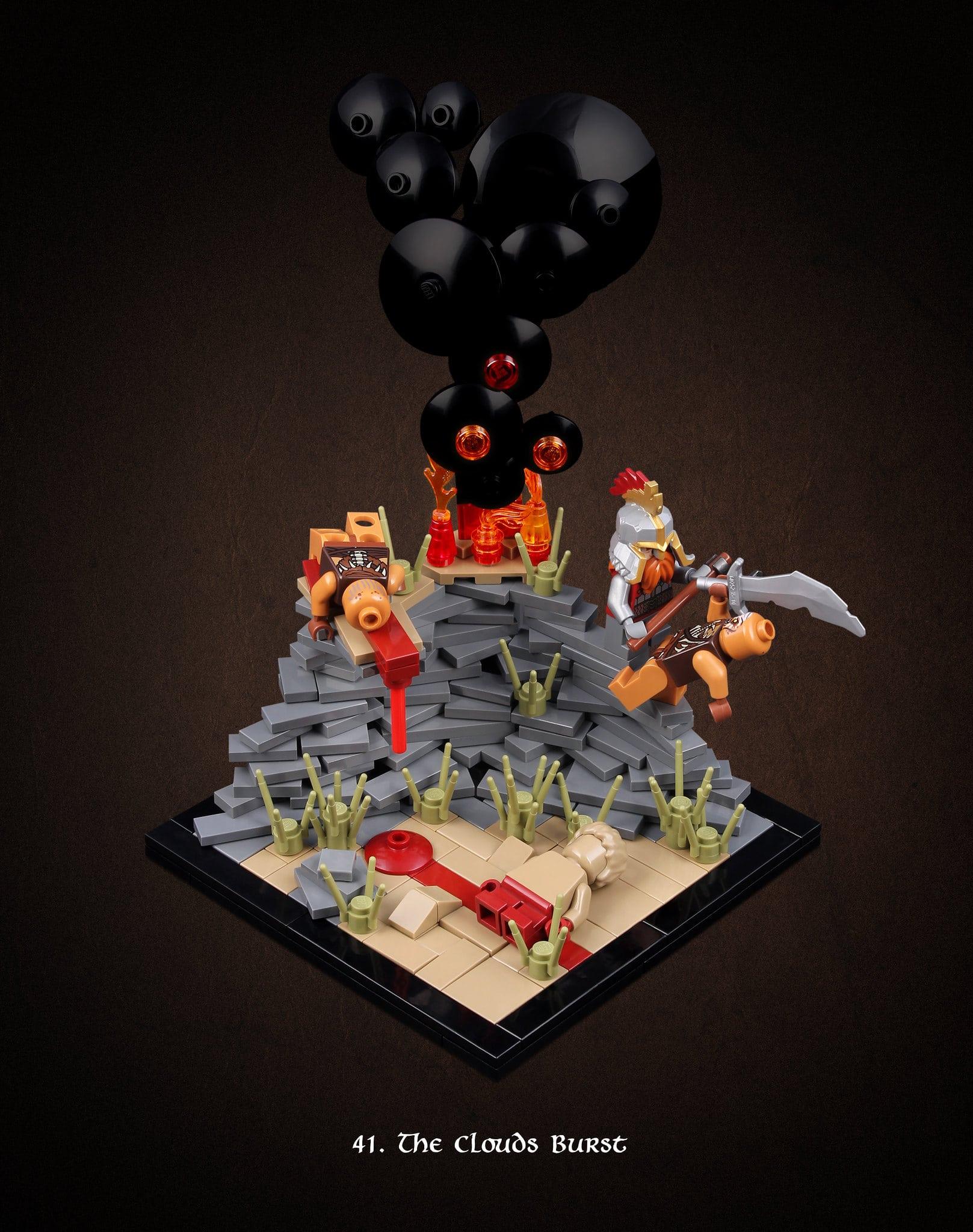 LEGO Hobbit Thorsten Bonsch Vignetten Serie (41)
