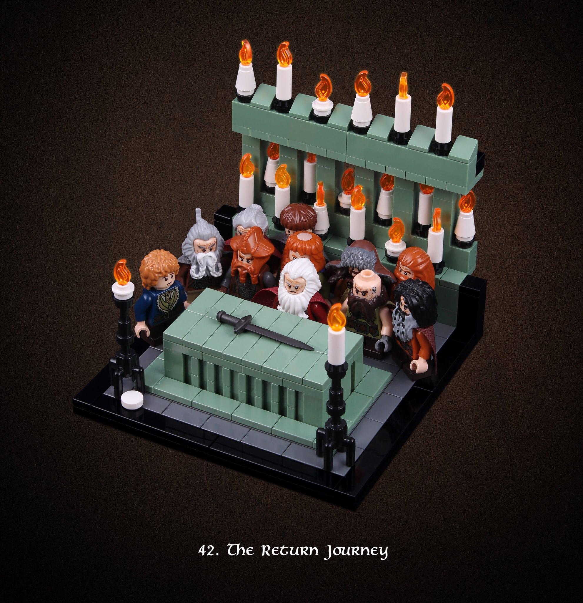 LEGO Hobbit Thorsten Bonsch Vignetten Serie (42)