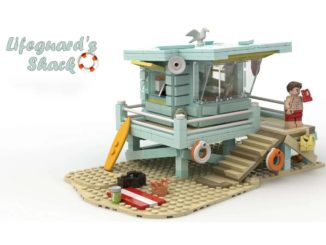 LEGO Idea Lifeguard Shack (1)