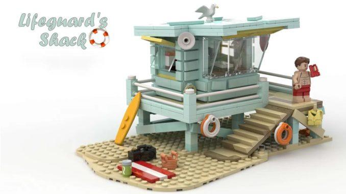 LEGO Idea Lifeguard Shack (1)