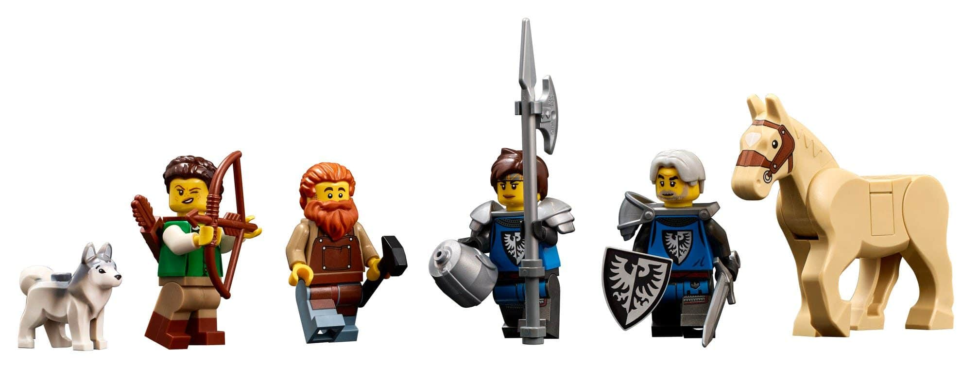 LEGO Ideas 21325 Medieval Blacksmith (15)