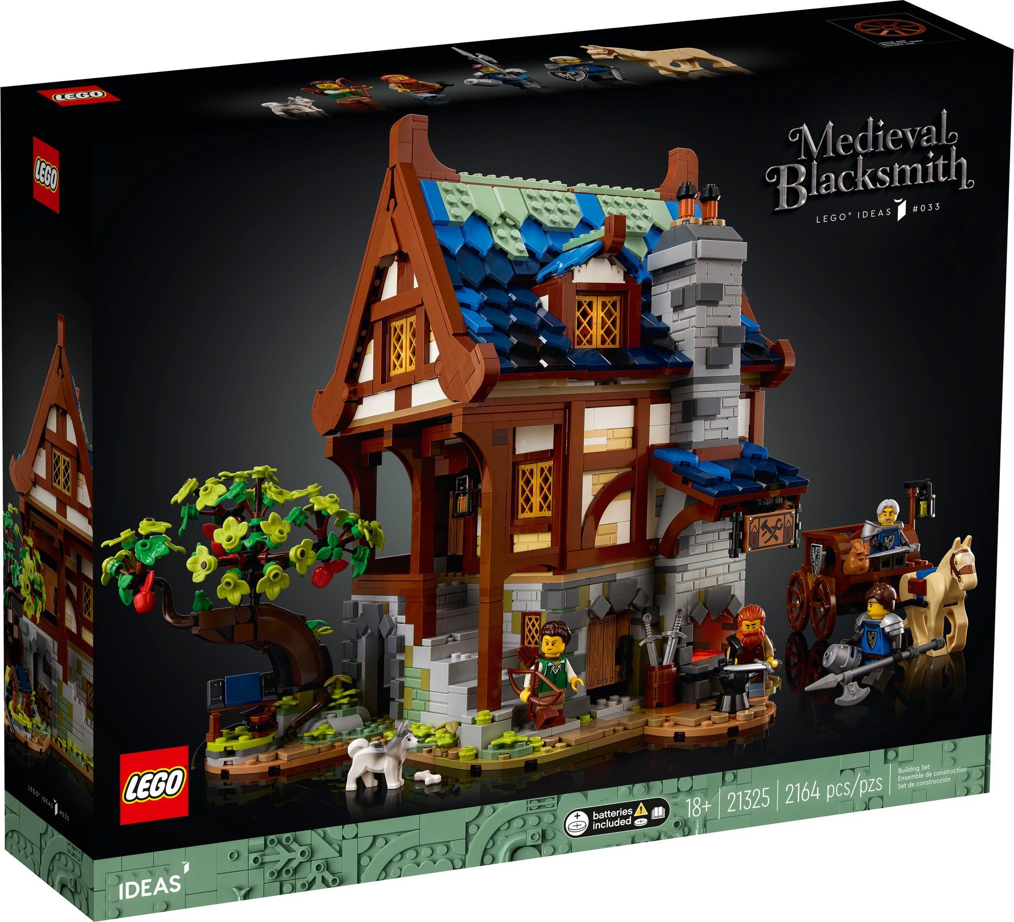 LEGO Ideas 21325 Medieval Blacksmith (2)